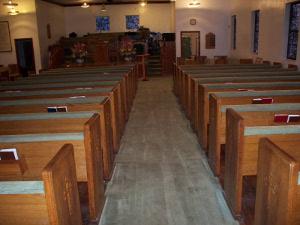 church carpet after